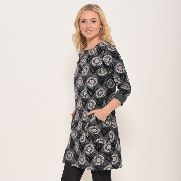 Brakeburn Martha Fine Needle Cord Shift Dress