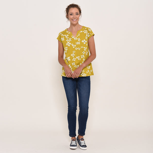 Brakeburn Ladies Hydrangea Blouse Organic cotton