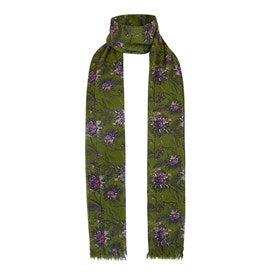 Weirdfish Ladies Alverton Printed Scarf Pear