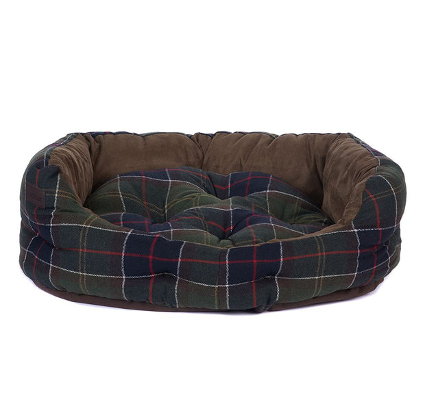Barbour Pet Luxury Dog Bed 30inch  Classic Tartan