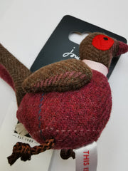Joules Ladies Tweedle Novelty Keyring Pheasant