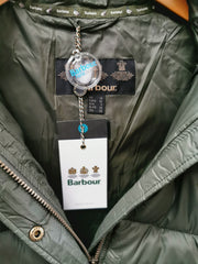 Barbour Ladies Ullswater Quilt Jacket Olive with detachable Hood