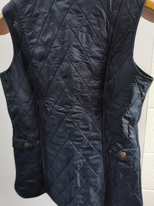 Barbour  Ladies Diamond Quilt Wray Gilet Navy