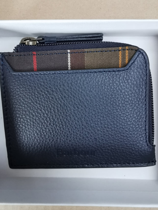 Barbour Ladies  Coin Card Purse Navy