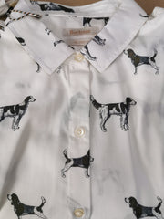Barbour Ladies Stirling Shirt Cloud Dog print