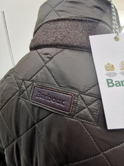 Barbour Mens Hawkshead Quilted Jacket Olive