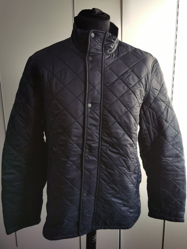 Barbour Mens Hawkshead Quilted Jacket Navy