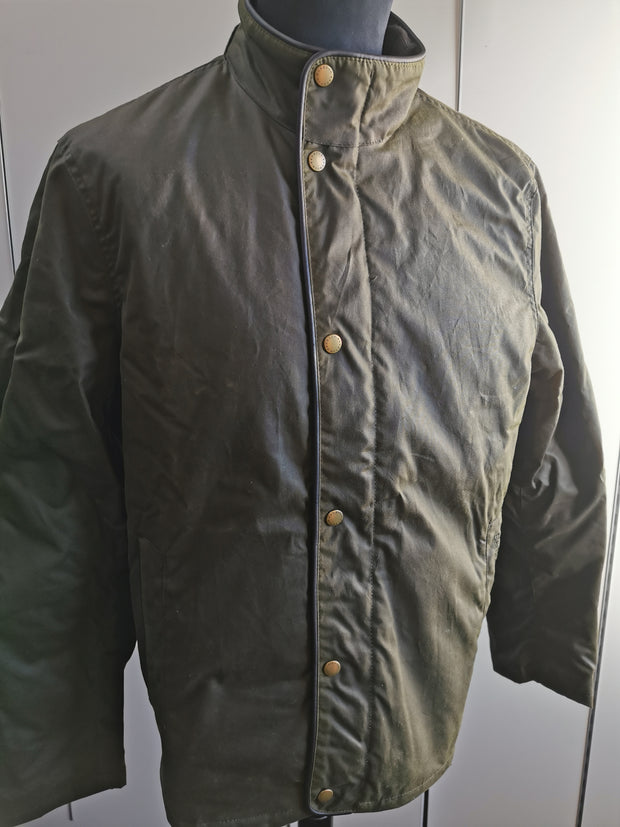 Barbour Mens Buttermere Wax Jacket Archive Olive