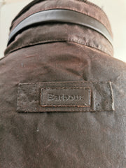 Barbour Mens Latrigg Wax Jacket with Hood Rustic