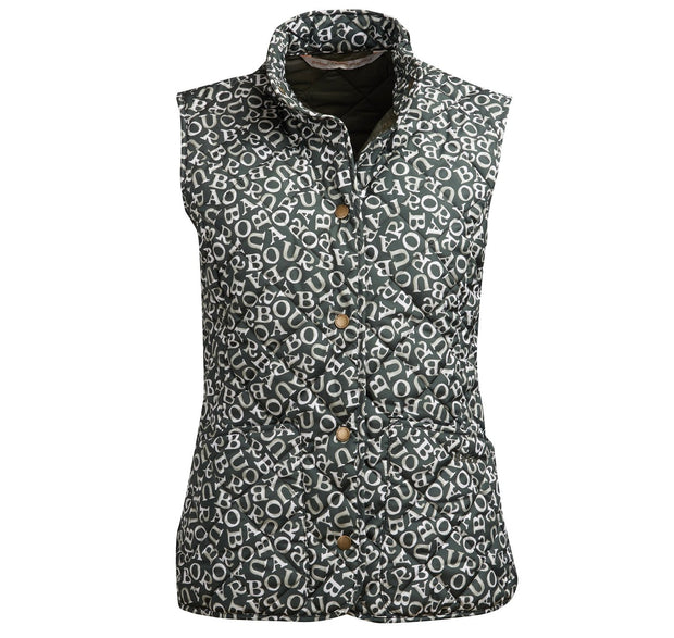 Barbour x Emma Bridgewater Ladies Blakewood Gilet Sage