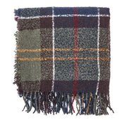 Barbour Ladies Boucle Scarf Classic Tartan