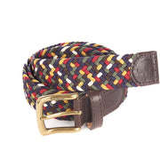 Barbour Mens Classic Tartan Stretch Belt in Gift Box