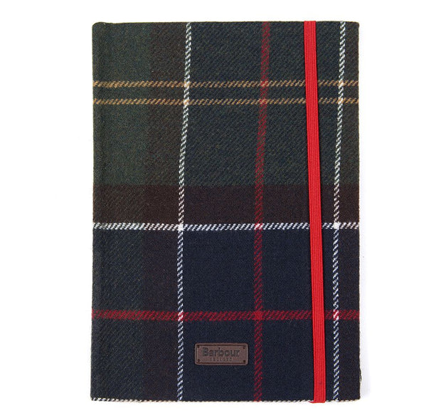 Barbour Mens Tartan Notepad Classic