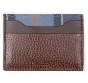 Barbour Laddon Mens Leather Card Holder Brown