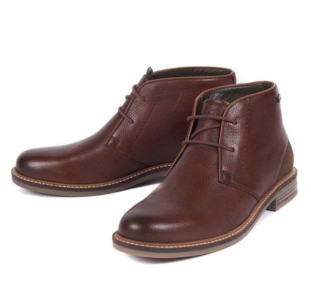 Barbour Mens Readhead Chukka Boots Dark Brown