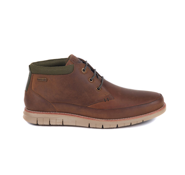 Barbour Mens Nelson Chukka Boots Choco