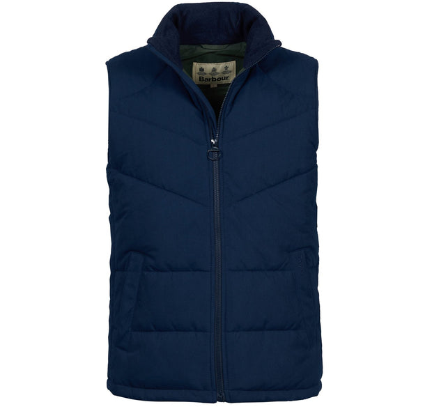 Barbour Mens Ruck Gilet Navy