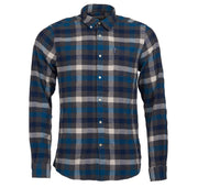 Barbour Mens Country Check Shirt 5 Tailored Fit  Blue