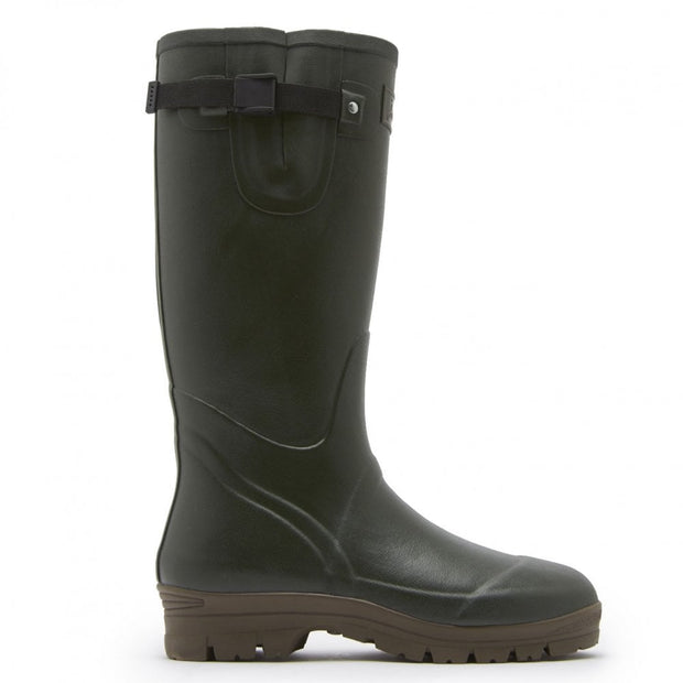 Joules Mens Field Welly Neoprene Lining Dark Evergreen