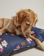 Joules Rosewood Dog Mattress Restwell Pet Navy Floral