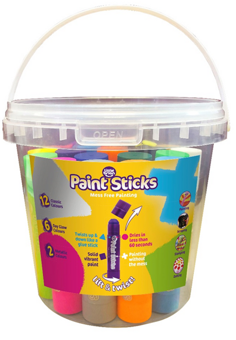 Paint stick klessulitir basic 20 stk