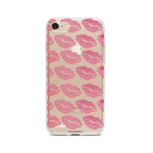 """Pink Kisses"" Phone Case - Saylor Design Co"