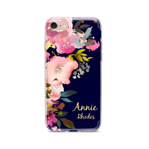 "Personalized ""Fresh Flowers"" Phone Case - Saylor Design Co"