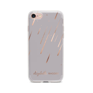 "Personalized ""Sparkly Shower"" Phone Case - Saylor Design Co"