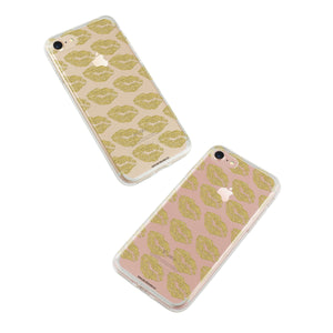 """Golden Kisses"" Phone Case - Saylor Design Co"