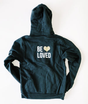 """Be Loved"" Hoodie Fleece - Saylor Design Co"
