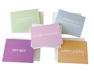 Birthday Cards - Saylor Design Co