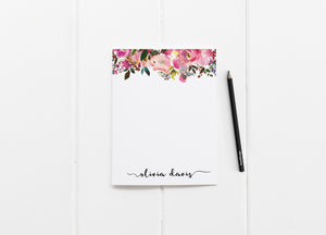 """Fresh Scent"" Personalized Stationery - Saylor Design Co"
