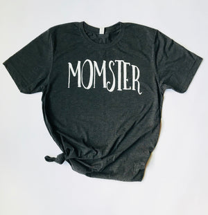 """Momster"" T Shirt - Saylor Design Co"