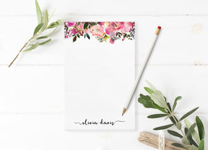"""Fresh Scent"" Personalized Notepad - Saylor Design Co"