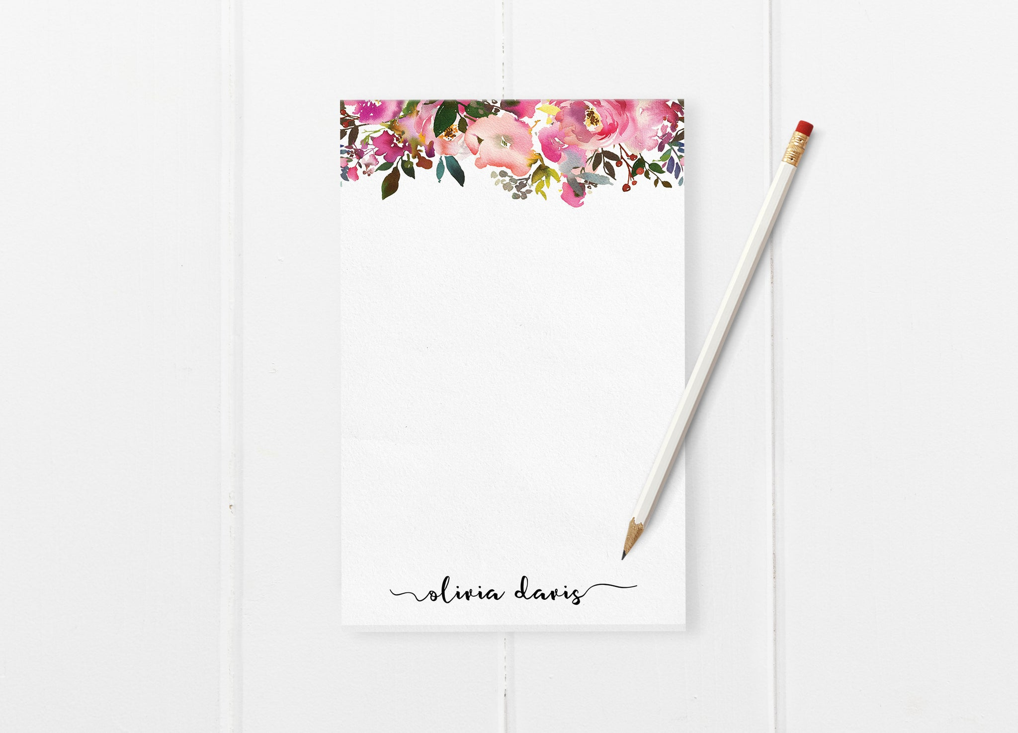 fresh scent personalized notepad saylor design co