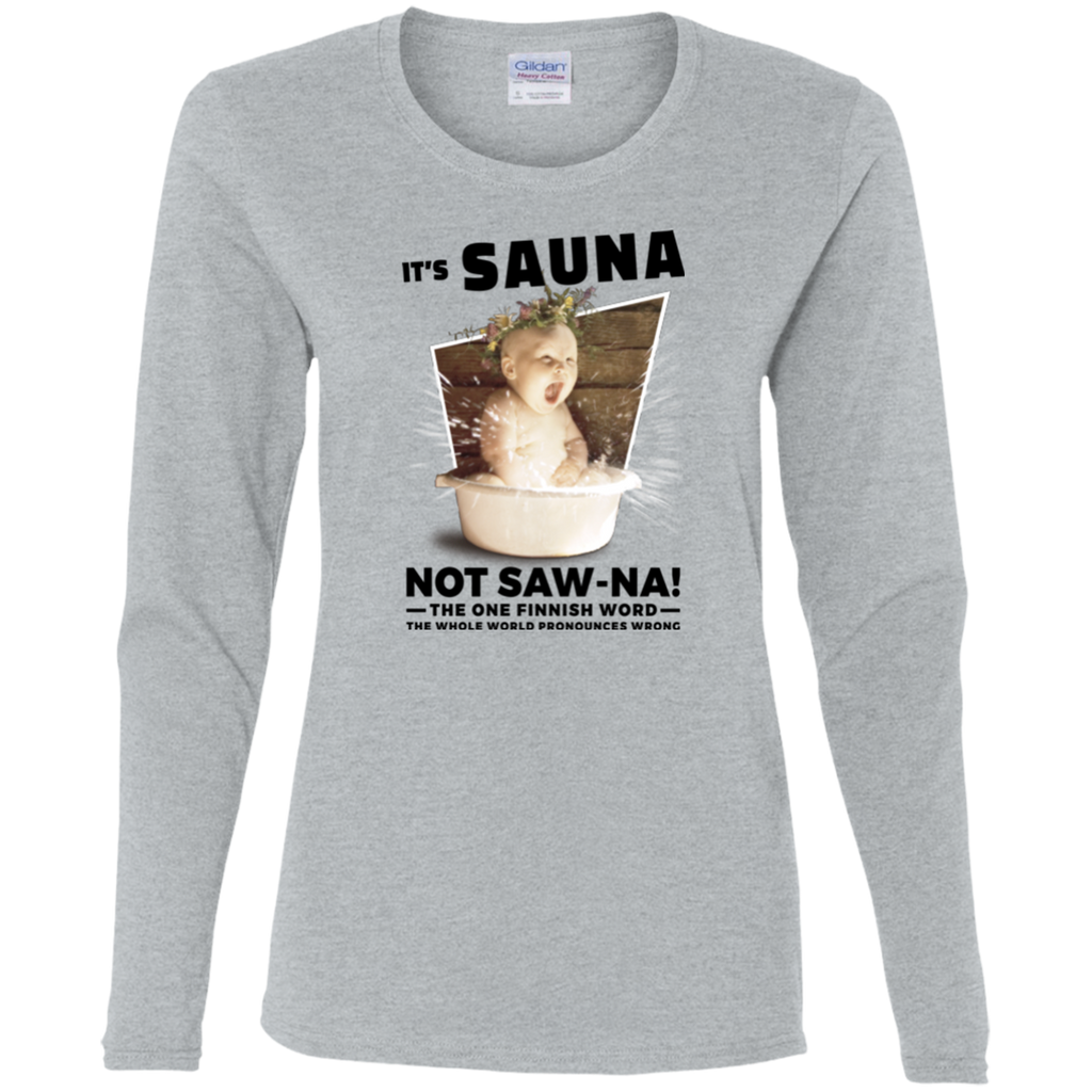 Ladies' Long Sleeve | Sauna