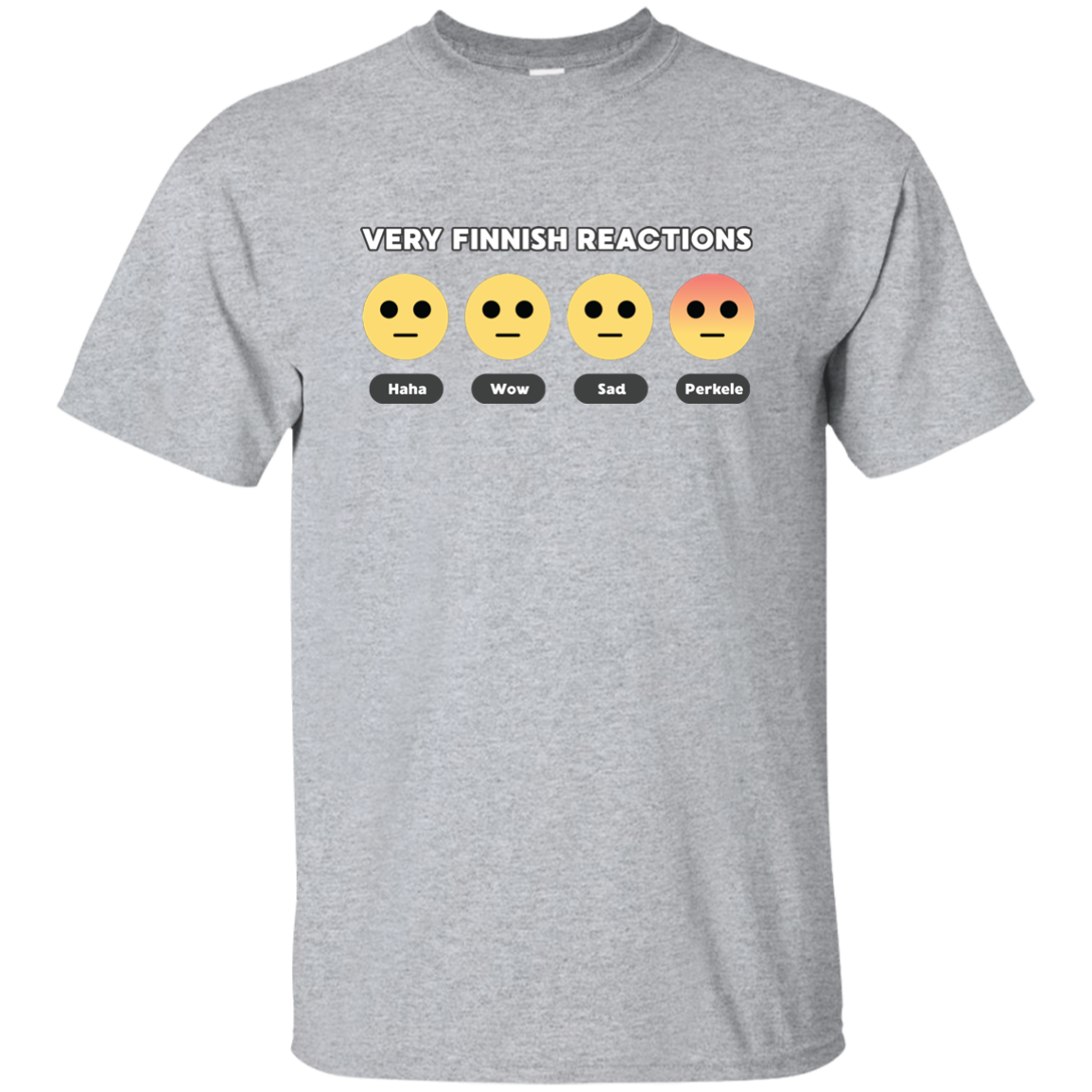 Very Finnish Reactions | T-Shirt