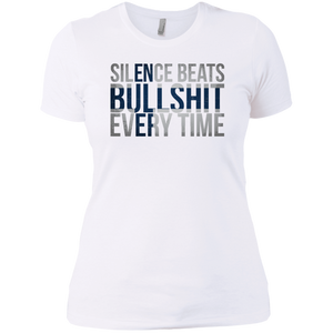 Ladies' Boyfriend T-Shirt | Silence
