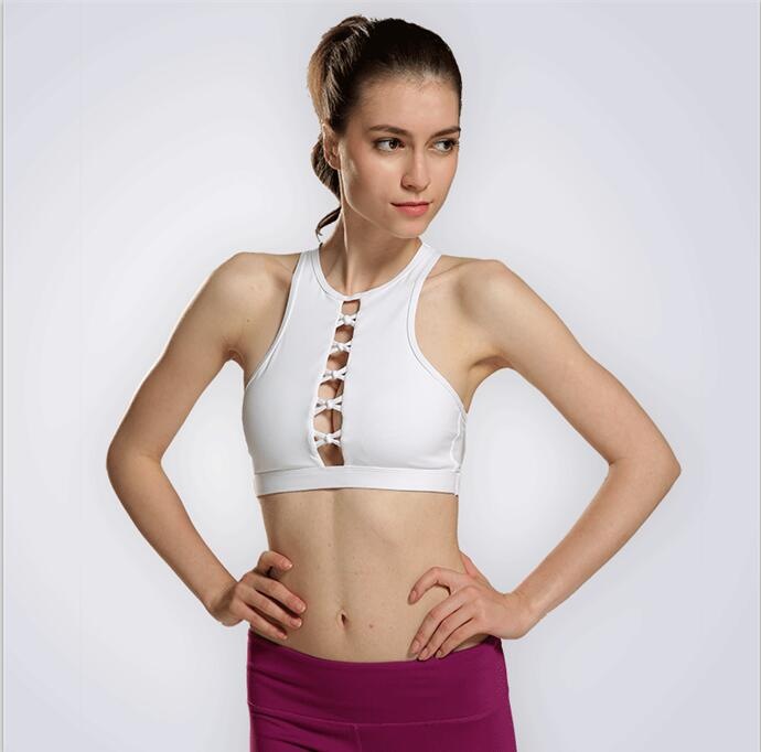 778af6901e Sexy Mesh Patchwork Halter Top Sports Bra (Quick Dry)- 3 Colors ...