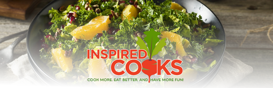 Winter Kale Salad with Oranges & Dijon Vinaigrette