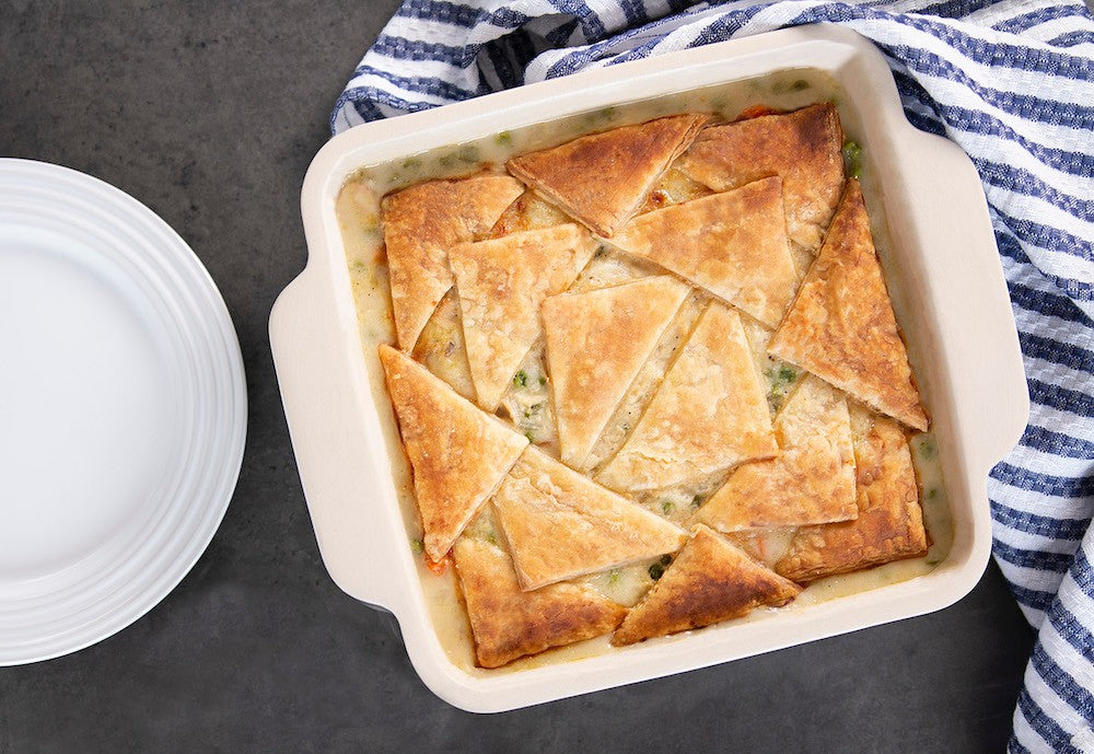 Easy-Peasy Chicken Pot Pie