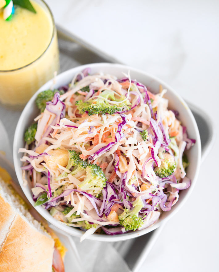 Pineapple Coleslaw Recipe