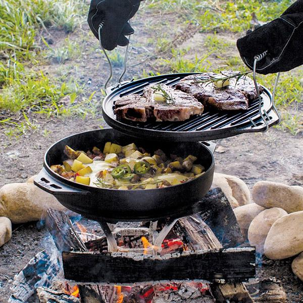 Lodge All-In-One Campfire Grill & Cooker