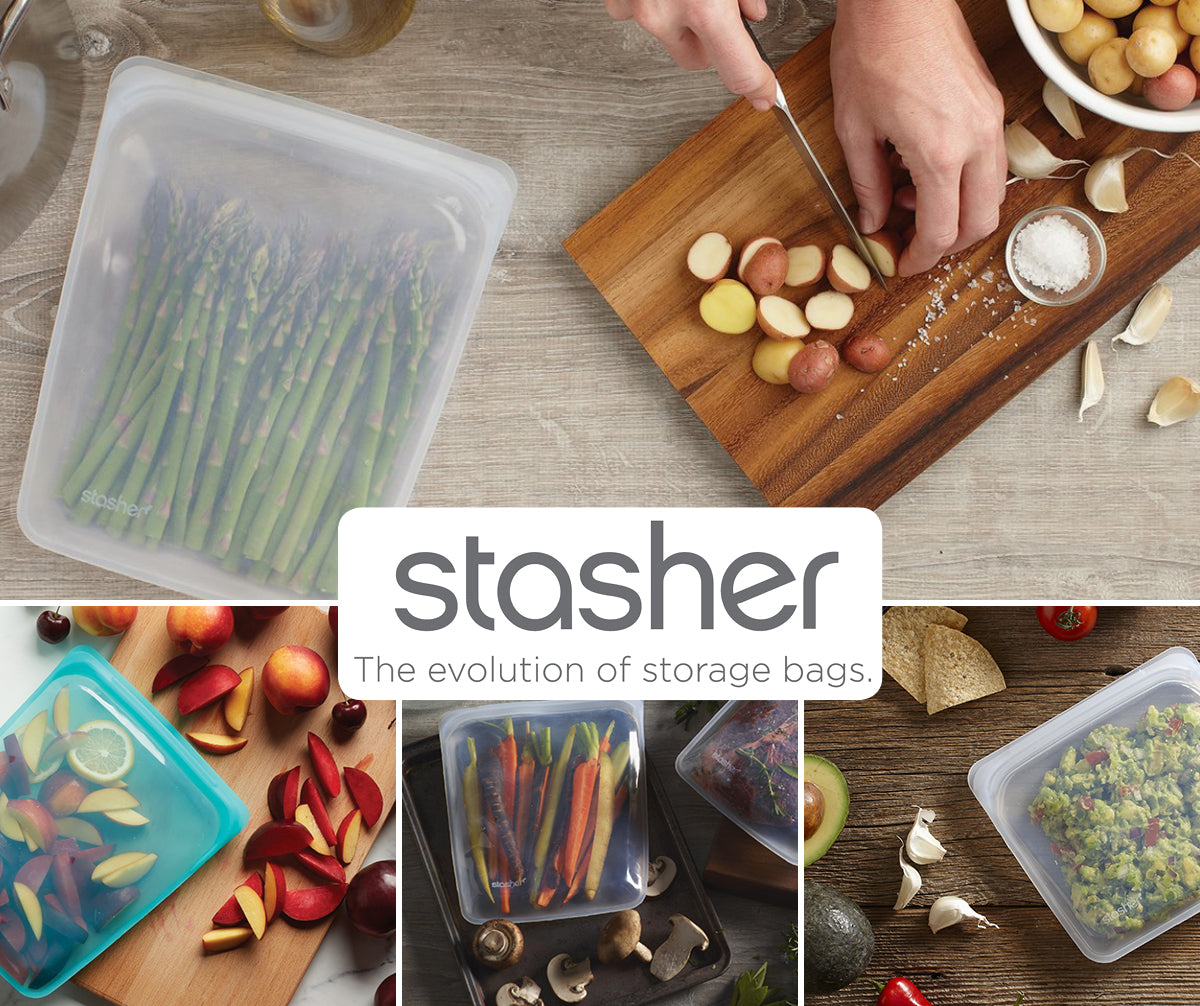 Stasher Re-usable Food Storage Silicone Bags