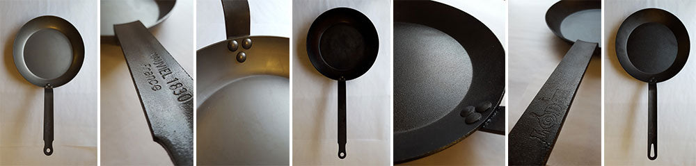 Carbon steel skillets