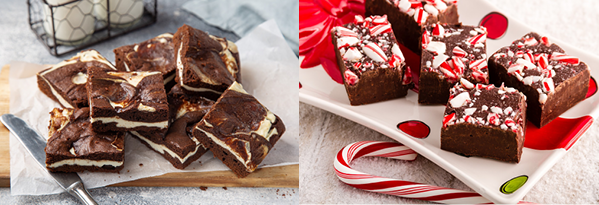 Brownies & Fudge for the Holidays