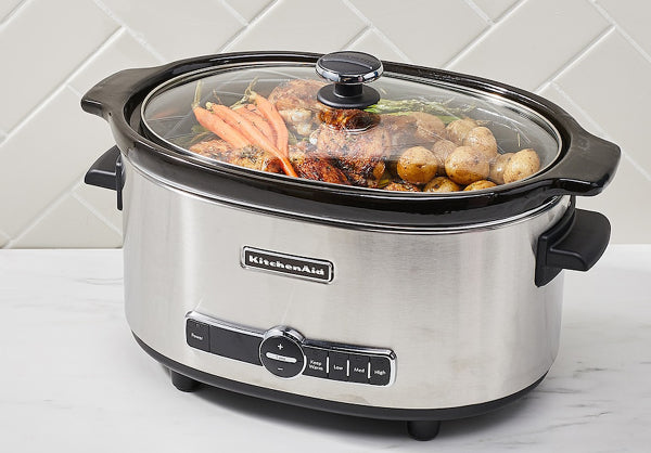 KitchenAid 6 Qt. Stainless Steel Slow Cooker