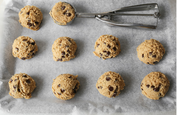 Spicey Oatmeal Chocolate Cookies