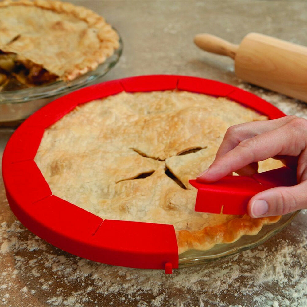 Silicone Pie Crust Chield