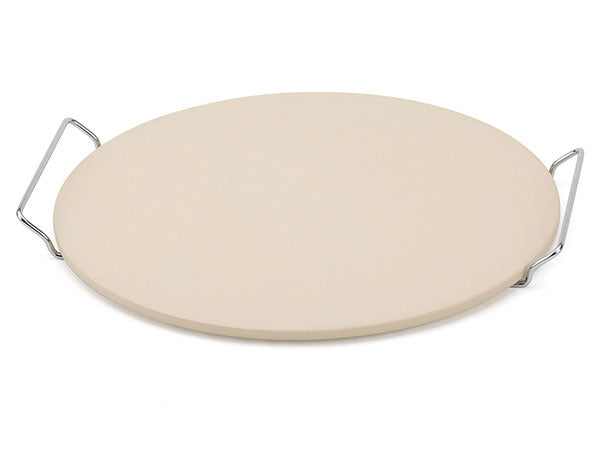 Bialetti 14.75 inch Pizza Stone with Rack